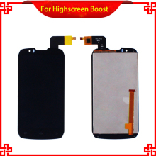 LCD Display Touch Screen For Highscreen boost Cloudfone Thrill430X DNS S4502 DNS-S4502 S4502M Mobile Phone LCDs Free Shipping
