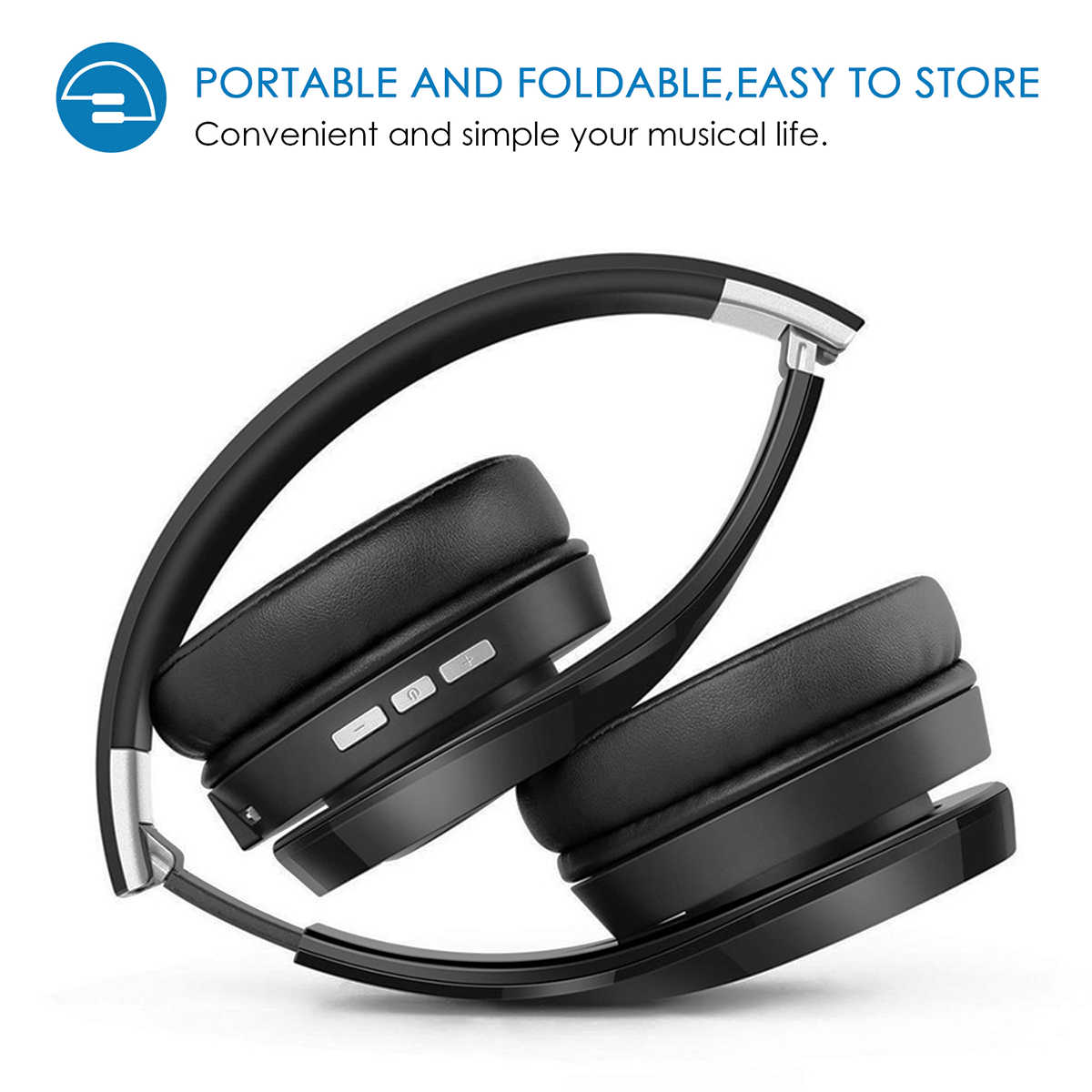 41b878a7b97 ... ELEGIANT S1 HiFi estéreo bluetooth inalámbrico 4,1 Auriculares  auriculares para juegos plegable del auricular ...