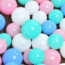 25/50 Pcs /Lot 7cm/5.5cm  color Ocean ball Anti Stress Plastic Fun Baby Pit Toy Pool Wave Ball Gift Outdoor Sports