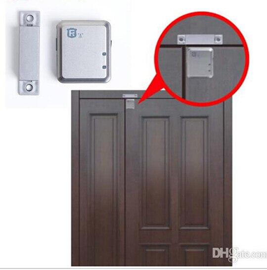 imágenes para GSM tracker contenedor/remolque de seguimiento tracker cerradura de la puerta de control de apertura de puerta del contenedor dispositivo RF-V13 sin caja