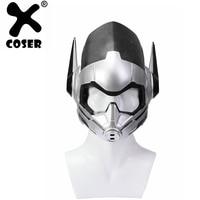 XCOSER Ant Man 2 Cosplay Wasp Sliver Full Head Helmet Ant Man 2 Movie Halloween Cosplay Costume Prop For Men Adult