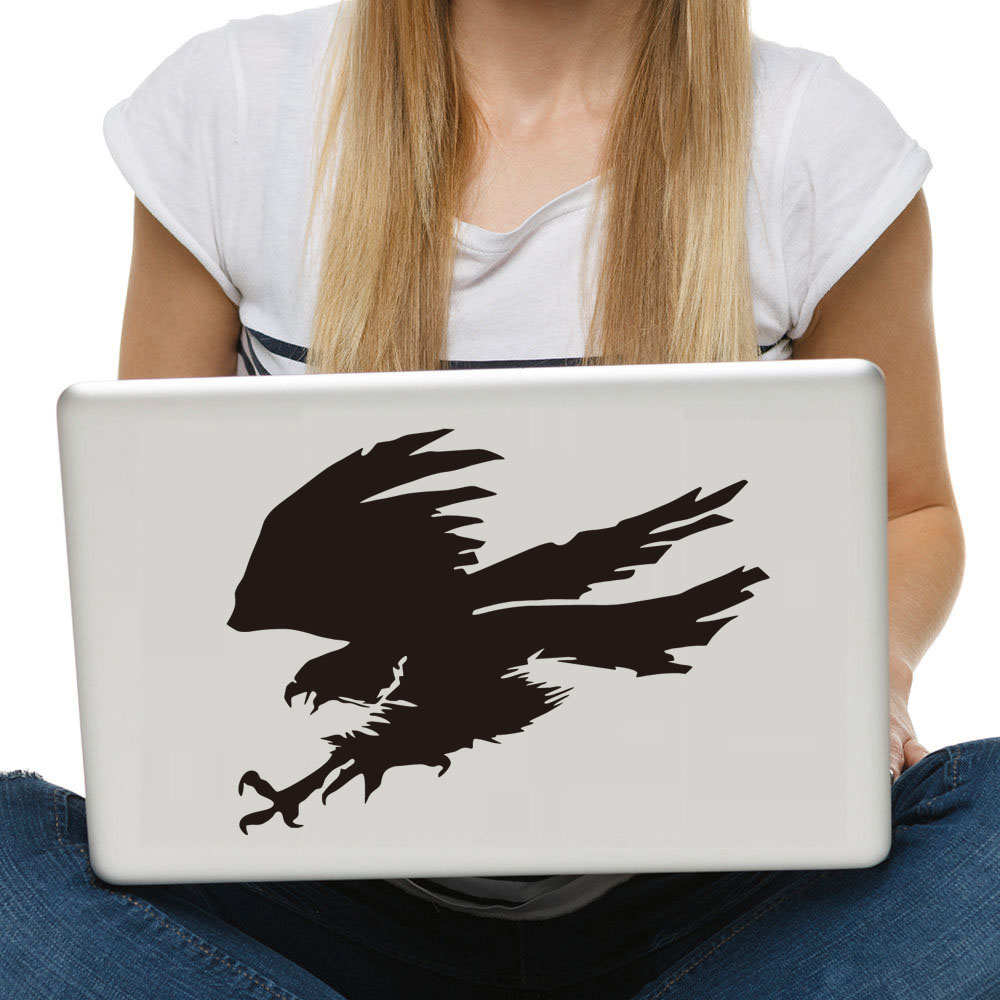 popular falcon furniture buy cheap falcon furniture lots from flying falcon notebook sticker bird styling computer sticker removable vinyl adhesive wall car laptop stickers creative