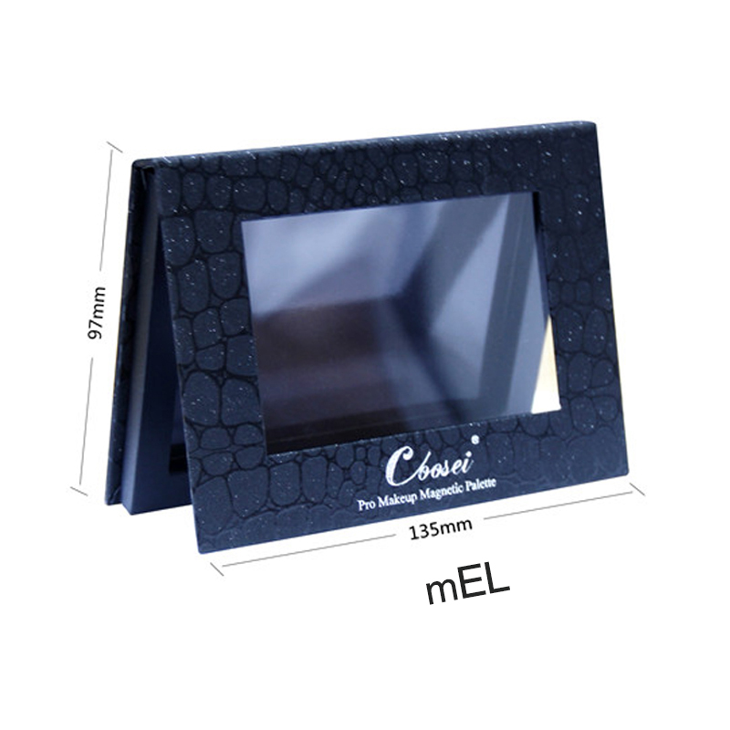 Coosei  make up magnetic palette naked eye shadow palete 6color empty magnet eyeshadow professional
