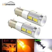 2PCS Canbus LED BA9S T4W No Polarity 12-24V 8 5630+XBD SMD Car Light Bulb Parking Lights Lighting Error Free Auto Lamp Led White 4pcs car bulb canbus error free ba9s t4w h6w led white 4014 24smd 4 8w led automotive light lamp 12v parking 57 233 w6w t11