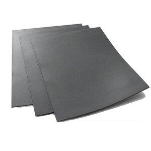 Image 3 - 1 pc A4 אפור לייזר גומי גיליון לעמוד שמן שחיקה מדויק חריטת הדפסת אוטם חותמת 297x211x2.3mm