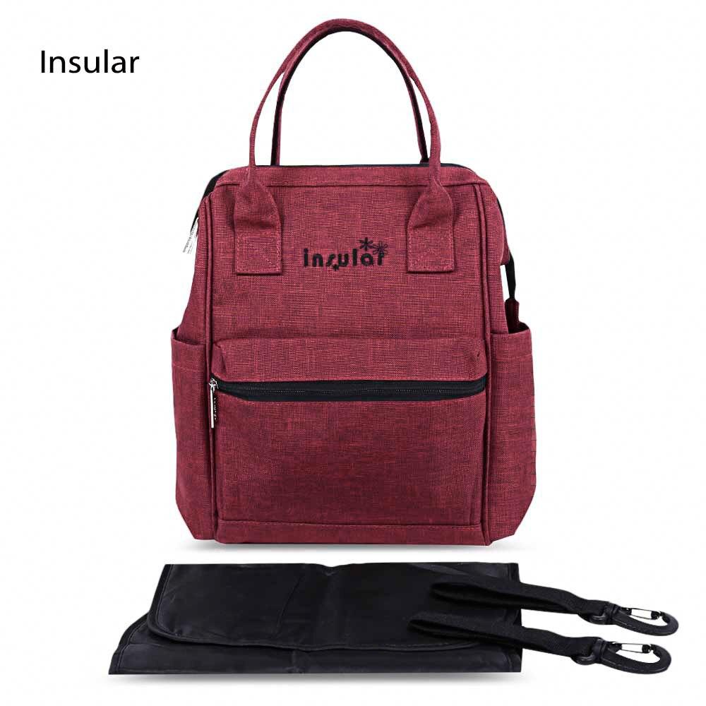 2017 hot sale zipper mummy bag multi functional mom bag strollers tote bags travel backpack. Black Bedroom Furniture Sets. Home Design Ideas