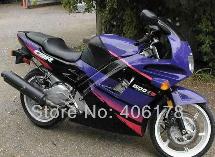 Offres spéciales, 91-94 kit de carénage pour Honda CBR600 F2 1991-1994 carénages moto multicolore cbr f2 carénages cbr600 oem