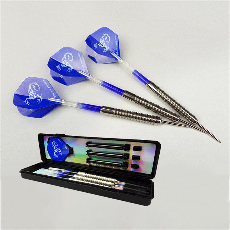 3pcs Steel Tips Darts 19g Shafts Flight Harrow Point Wing Needle Barrel Throwing Professional Darts Flights Throwing