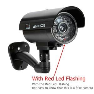Image 3 - 4pcs Waterproof מצלמה חיצוני מקורה אבטחת CCTV Bullet מעקבים מצלמה מהבהב אדום LED משלוח חינם