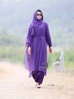 2016 New Arrival Malezja abayas Muzułmaninem Szyfonowa długa sukienka dla Kobiet w Dubaju Turecki panie odzież wysokiej jakości długa sukienka
