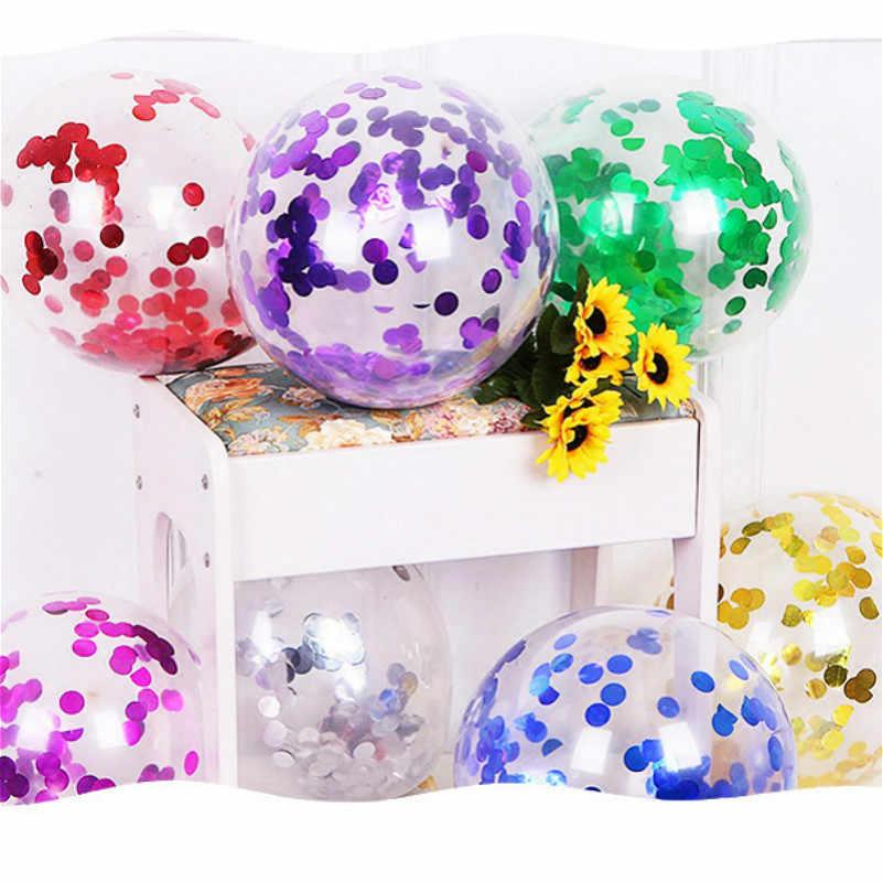1 szt. Zielone cekiny zabawka piłka kolorowa piłka miękka piłka oceaniczna śmieszne dziecko dziecko zabawka Swim Pit basen z wodą fala oceaniczna