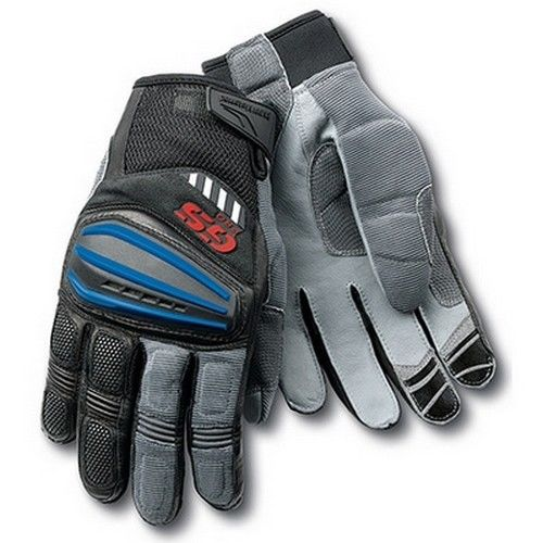 100% New 2016 Rallye 4 blue Motorrad GS Pro Gloves Motocross Gloves Car Rallye Motorbike Moto Racing Gloves for BMW