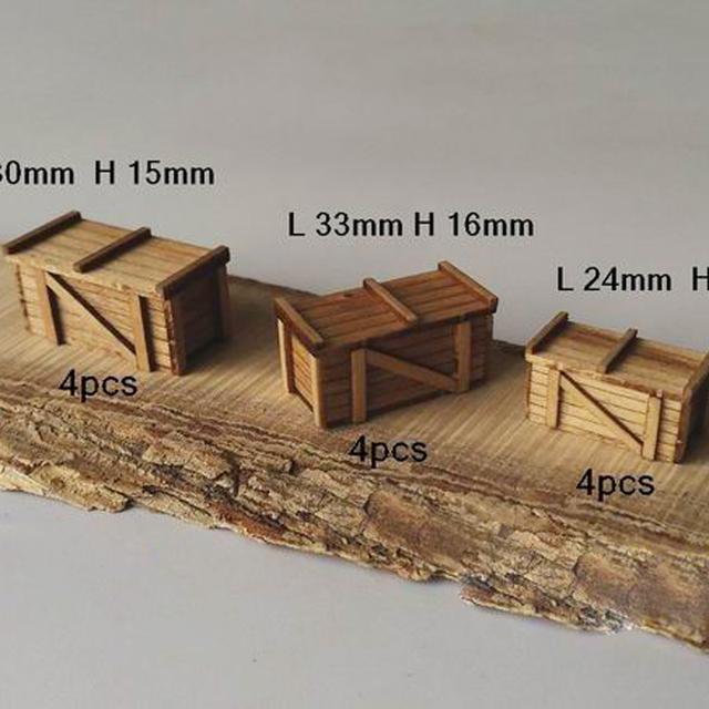 Kit Modelo de navio 1:48 Cena Acessórios Modelo De Madeira de Madeira de Corte A Laser