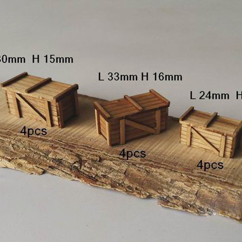 Ship Model Kit 1:48 AccesSories Scene Model Wooden Wood Laser Cutting