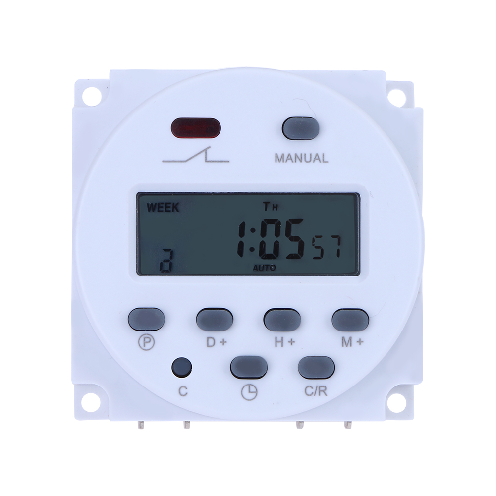Intelligent Timer Electronic Time Control Digital Switch Programmable Timer Time Relay Switch Control for Light Boxes Radio electronic light switch weekly programmable timer digital switch relay timer controller for controlling road lamp neon light