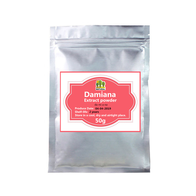 50-1000g Penis Enlarge Effective,GMP High Quality Damiana Extract/Turnera Diffusa Extract Powder,da Mi A Na,Nature Sexual Energy