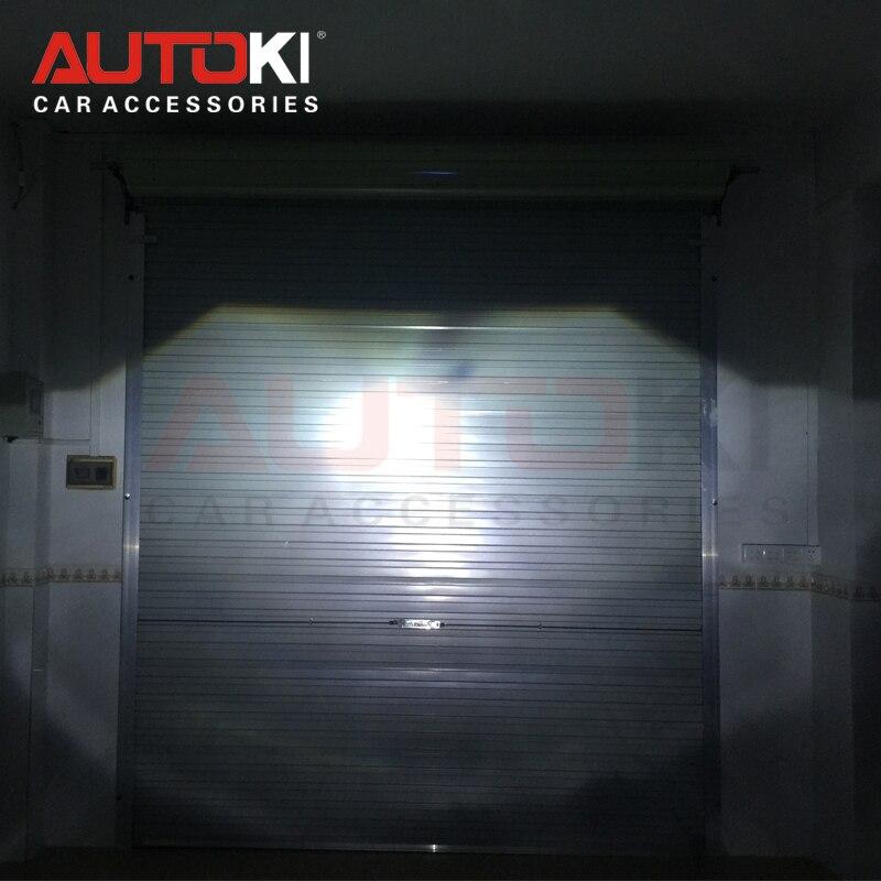 Livraison Gratuite Autoki 3.0 pouces Bos-ch E46 H7 bi-xénon Projecteur Lentille de Remplacement pour BMW E46 Utiliser H7 ampoule - 5