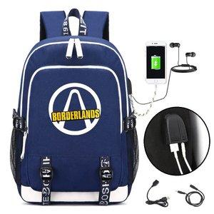 Горячая игра borderland рюкзак косплей Дети Подростки дорожная сумка для ноутбука через плечо аниме геймер студенческие школьные сумки подарок