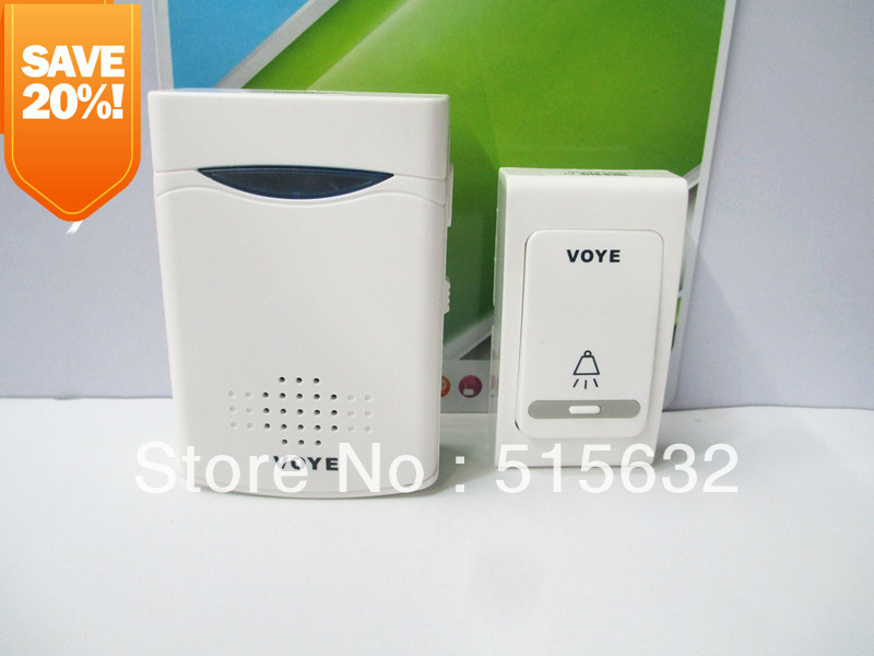 wholesale new improved version loud 38 Tunes Wireless Remote Control Doorbell Door Bell V006B mylb digital wireless doorbell door bell wireless doorbell 32 tunes remote control durable