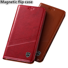 TZ01 Genuine leather magnetic flip case with card slot for OnePlus 7 Pro(6.67′) phone case for OnePlus 7 Pro phone bag