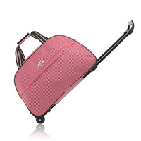 Large capacity Travel Bags Waterproof handbag With Wheels Rolling luggage/suitcase trolley case Women&Men boarding Oxford bags