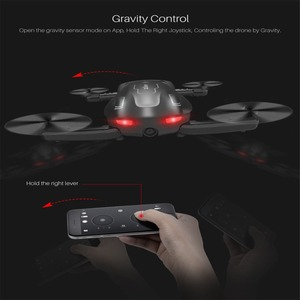 Image 5 - Foldable RC Drone SYMA Z1 HD Camera 2.4Ghz 6 axis Remote Control Wifi Qudacopter 4CH Smart RC Drone Optical Flow Positioning