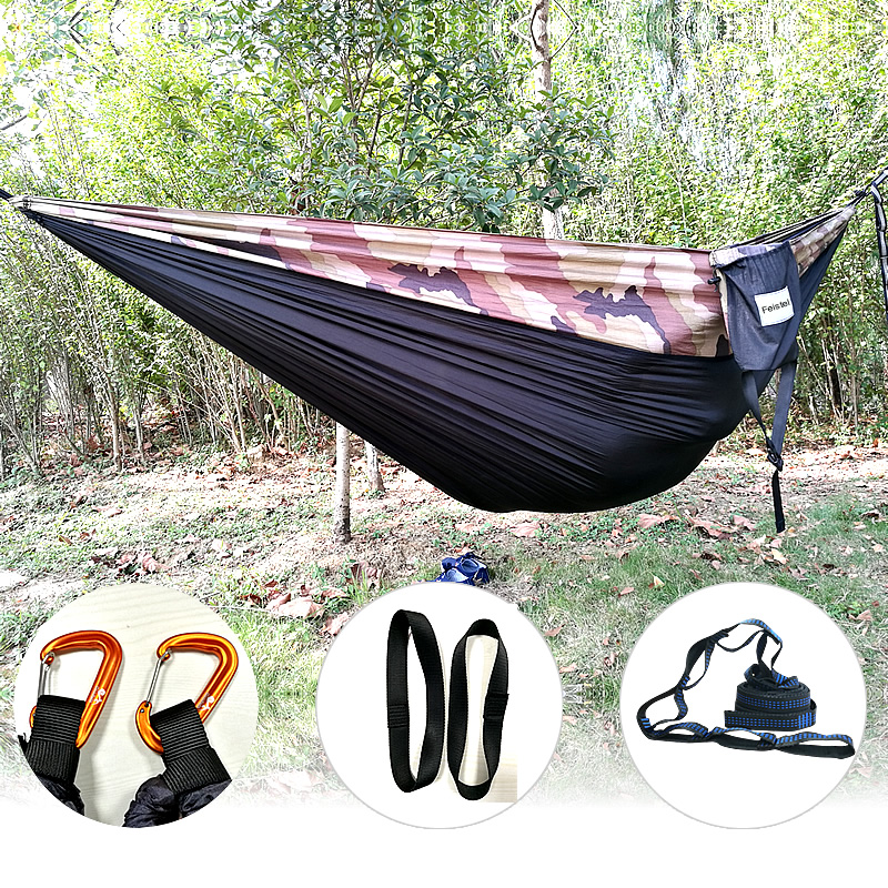 Promotion! 300x200cm New Portable High Quality Army Nylon Hammock Hanging Mesh Net Sleeping Bed Swing Outdoor Camping Travel