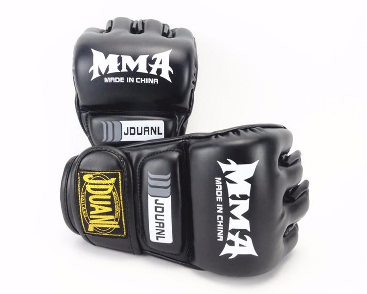 Half Finger Boxing Gloves Men Gants De Boxe MMA Luva Boxe MMa Gloves Fighting Training Luva De Box PU Sandbag Boxing Equipment 9