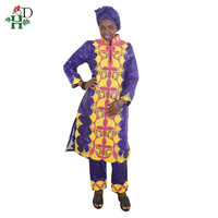 31fa1f8b11592 H D African Dresses For Women Clothes 100 Cotton Bazin Embroidery Scarfs  Headwraps Tops Pants Suits. US $54.00 US $40.50. H & D afrika elbiseler  kadın ...