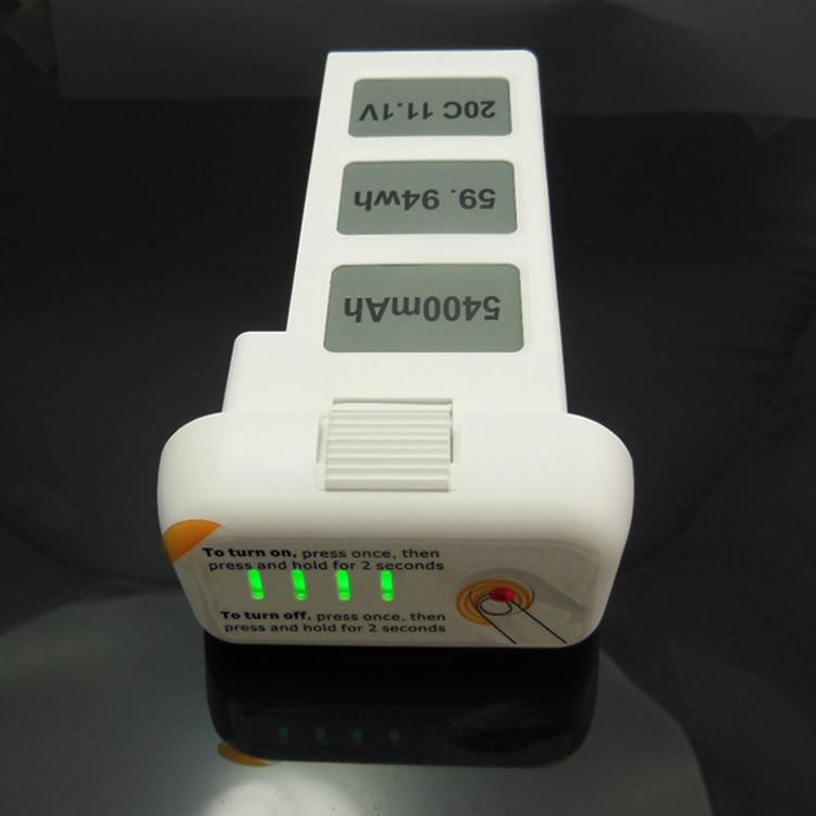High Quality D JI Phantom 2 Vision 5.4A 11.1V  5400mAh Battery Spare Longer Flight Time Free Shipping