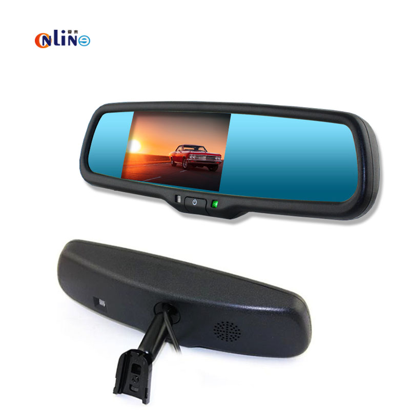 Auto Dimming 4.3 TFT LCD HD 800*480 Special Bracket Car Parking Rear View Rearview Mirror Monitor For Toyota Kia Hyundai Nissan rally technology auto dimming rear view mirror with 4 3 inch 640 480 resolution tft lcd car monitor built in special bracket