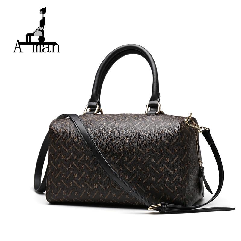 цена  AMAN Women's Baguette Bag Fashional Bag Luxury Handbags Women bags Designer Bag Lady Famous Brands AM322  онлайн в 2017 году