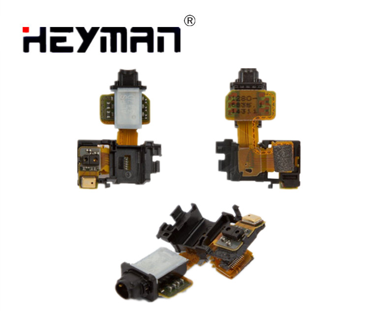Heyman Flex Cable for Sony Z3 D6603 D6633 D6643 D6653(with proximity sensor headphone connector,with components)