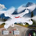 X5C X5C-12.4G 0.3MP + Câmera 2.4 Ghz 6-Axis Gyro RC Quadcopter Drone RTF 2 Bateria