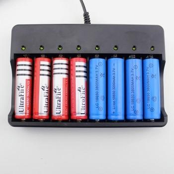 GTF 18650 Batteria Caricatore 8-slot Per Li-Ion Ricarica Della Batteria Al Litio Batteria Standard 8 Indipendente Di Ricarica Caricatore Di Batteria Al Litio