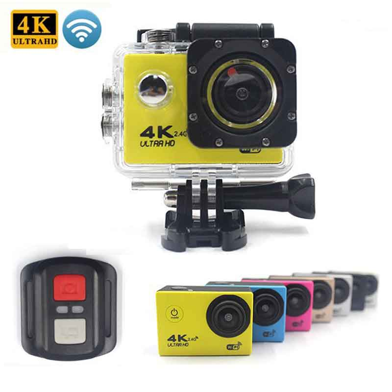 Ultra HD Action camera F60/F60R 4K/30fps 16MP WiFi 170Dgree Helmet Camera Underwater 30m Diving Waterproof Sports camera