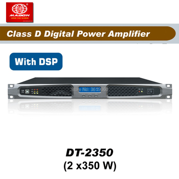 Free Shipping , DT2350, 2 x 350W , 2 Channels class d dsp amplifier power amp