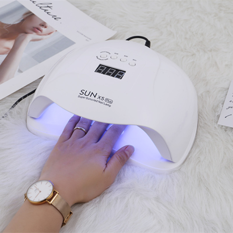 Image 3 - 54W SUN X5 Nail Dryer LCD Display 36Pcs LED Dryer Nail Lamp UV LED Lamp for Curing Gel Polish Auto Sensing Lamp For Nails-in Nail Dryers from Beauty & Health