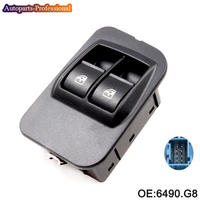 6490.G8 New Window Regulator Control Switch Panel Front Left Fits For Peugeot Bipper car accessories