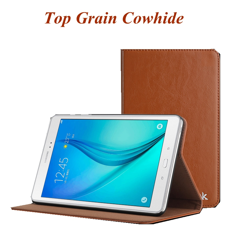 Fashion Genuine Leather Tablet Case Cover For Samsung Galaxy Tab A 8.0 Inch T350 SM T355C Tab 5 P355C Protector Film Pen Gifts аксессуар чехол samsung galaxy tab a 7 sm t285 sm t280 it baggage мультистенд black itssgta74 1