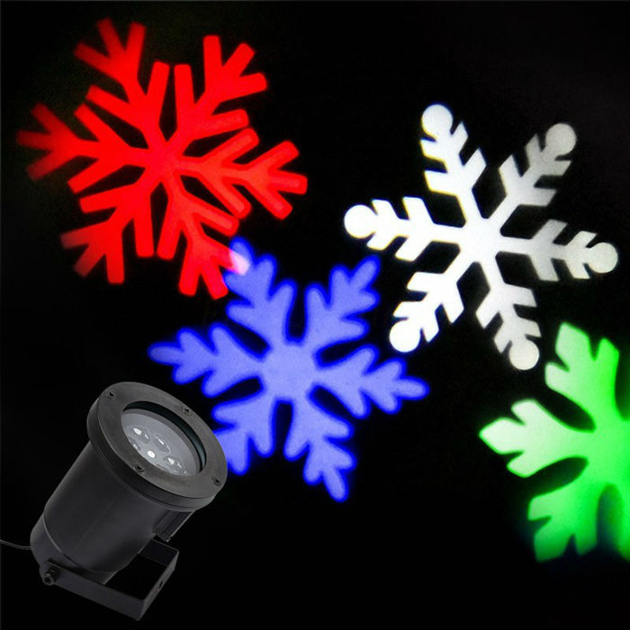 Waterproof Ip65 Outdoor Christmas Projection Light,christmas RGB/white  Moving Snow Laser Stage Lights