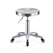 High quality pensonality SPA beauty chair stool bar stool trendy Acrylic stool surface large hairdressing chair(China)