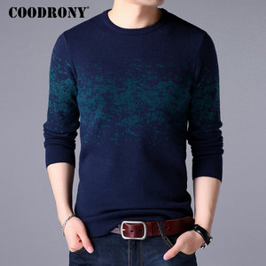 Image 2 - COODRONY Sweater Men Casual O Neck Pullover Men Clothes 2020 Autumn Winter New Arrival Top Sost Warm Mens Cashmere Sweaters 8257