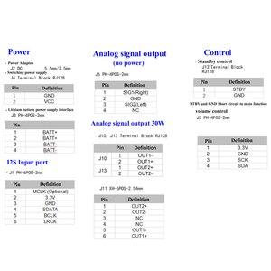 Image 5 - Lusya amplificador de audio Digital TAS5756, 30W * 2, estéreo, decodificador de audio analógico para Raspberry pie T0498