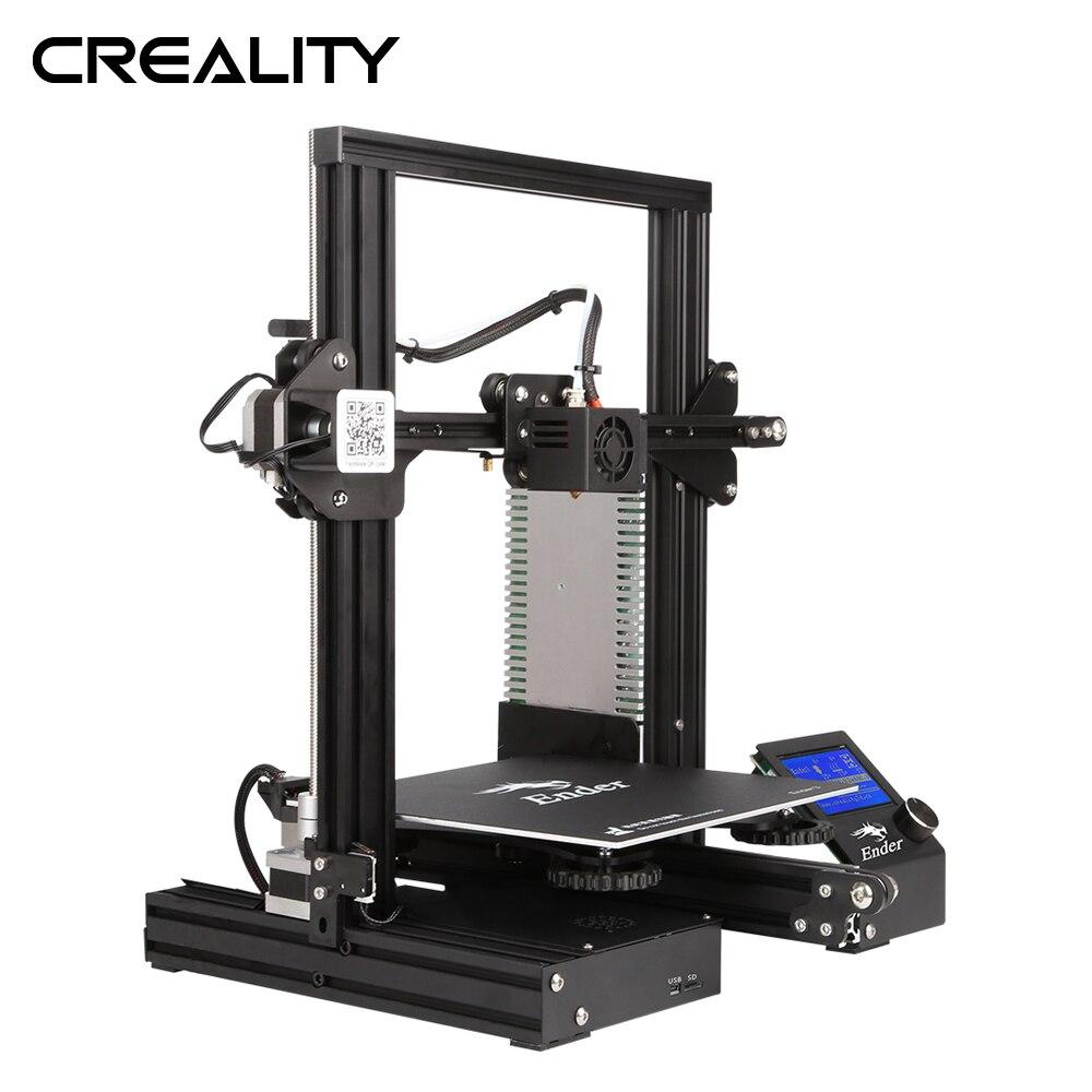 Creality 3D Imprimante Ender-3/Ende3X/Ender-3 Pro Ouvrir Build Imprimante Mise À Niveau Version Magique Cmagnet Construire Surface Avec 220 * 220*250mm