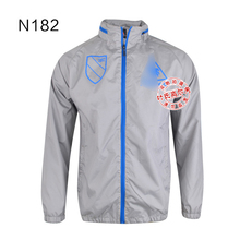 2016 winter men's golf waterproof/windproof/ full length sleeve golf trench coat with zipper collar golf sweater 4114