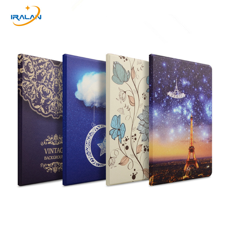 Silk Painted Leather Case For Huawei Mediapad T2 Pro 10.0 FDR-A01w A03L Tablet Flip Cover for Huawei M2 Lite 10.1 inch+Film+Pen image