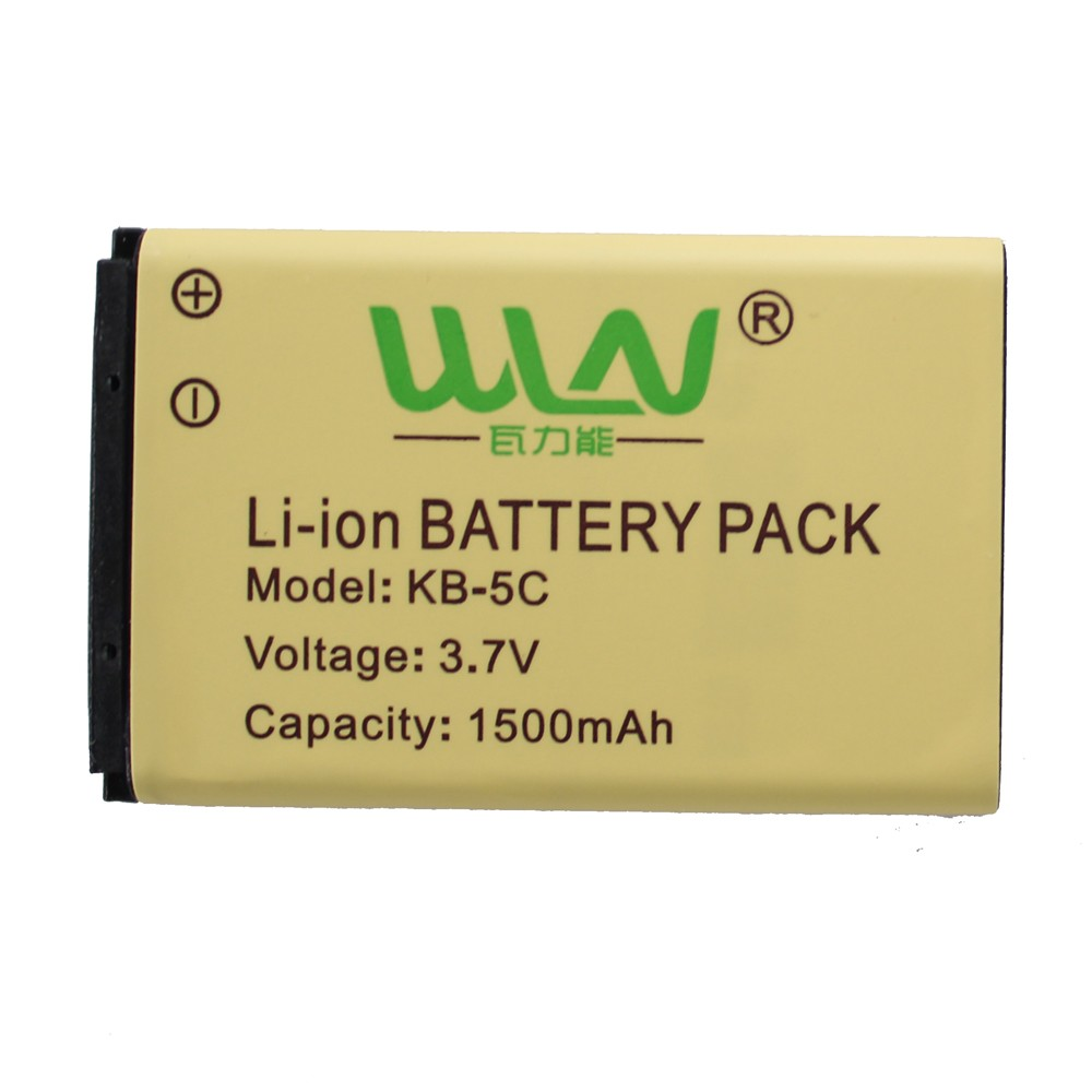 Originale Ricaricabile Li-Ion Battery Pack per WLN di KD-C1 Airfree AP-100 Retevis RT22 Zastone Zt-X6 Two Way Radio 1500 mah C-BAP100