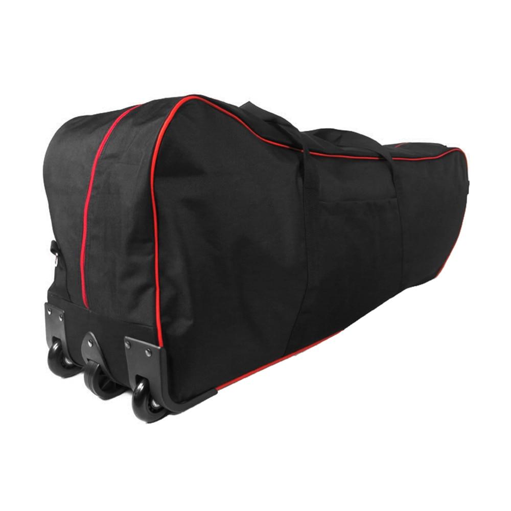 Sac pour Scooter pliable grande capacité sac pour 10 pouces pliable Scooter électrique Transport sac à roulettes avec roues sac Scooter