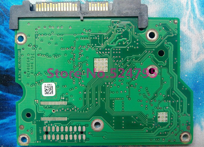 ST3500418AS HDD PCB Logic Board Board Number 100532367
